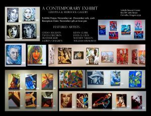 Contemporary Art Exhibit During November - December 2016